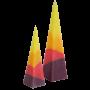 Червен Тукан – голяма и малка пирамида