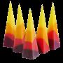 Червен Тукан – малки пирамиди