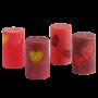 Любов цилиндър 62 сърчица- разни