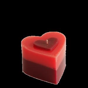 Ароматна свещ Влюбено сърце