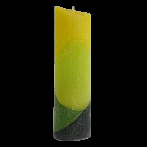 """Ароматна свещ """"Зелен Тукан"""" малък овал"""