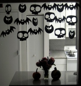 Украса за halloween декокация