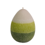 Ароматна свещ Яйце голямо зелено