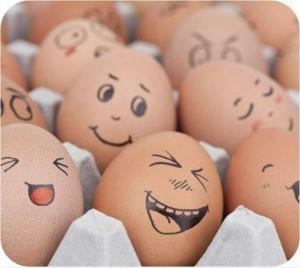 Великденски яйца емотиконки