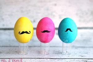 Великденски яйца мустачета