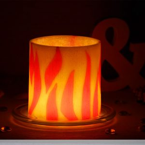 Домашен декор с фенер Пламъци