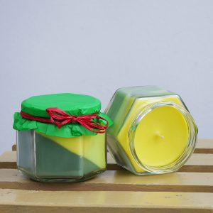 Свещ в бурканче с аромат на жасмин