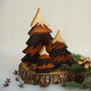 Коледни дръвчета украса за дома