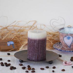 Свещ с аромат на шоколад