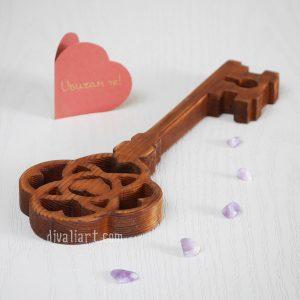 Дървен ключ